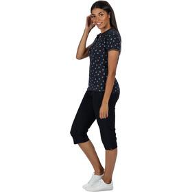 Regatta Faine II Camiseta Mujer, navy bird